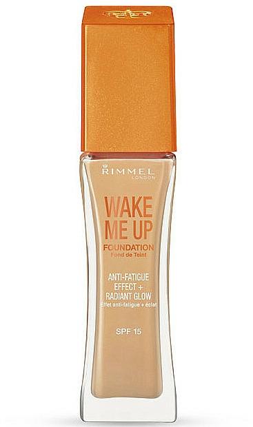 Base de maquillaje iluminadora - Rimmel Wake Me Up Foundation