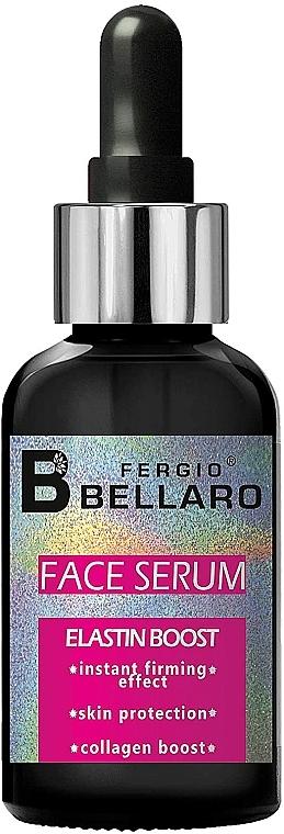 Sérum facial reafirmante con elastina y colágeno - Fergio Bellaro Face Serum Elastin Boost
