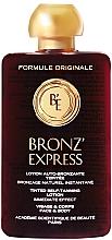 Perfumería y cosmética Loción autobronceadora para rostro y cuerpo con color - Academie Bronz'Express Lotion