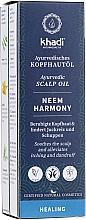 Perfumería y cosmética Aceite ayurvédico natural anticaspa - Khadi Ayurvedic Scalp Oil Neem Harmony