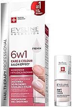 Perfumería y cosmética Esmalte de uñas, cuidado y color 6en1 - Eveline Cosmetics Nail Therapy Professional