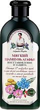 Perfumería y cosmética Champú con aceite de lino y rosa canina sin siliconas ni parabenos - Receptite na baba Agafia