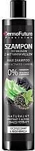 Perfumería y cosmética Champú con carbón activado & té blanco - DermoFuture Hair Shampoo With Activated Carbon