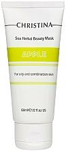 Perfumería y cosmética Mascarilla facial nutritiva con extracto de manzana - Christina Sea Herbal Beauty Mask Green Apple