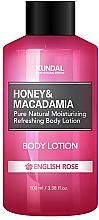 Perfumería y cosmética Loción corporal con extractos de miel y macadamia - Kundal Honey & Macadamia Body Lotion English Rose