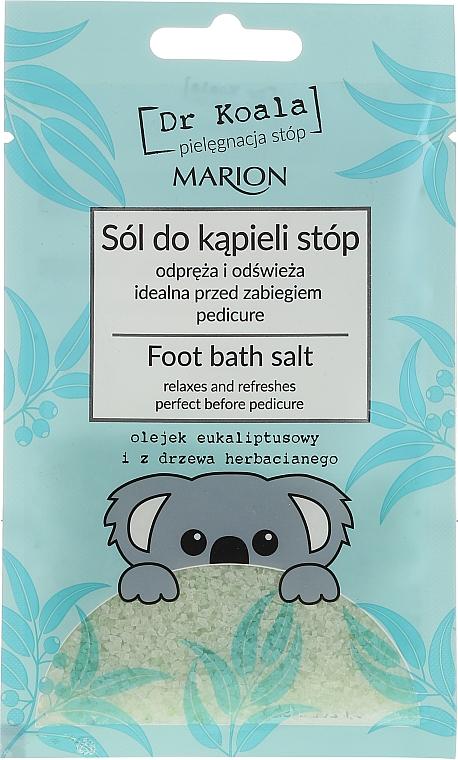 Sales de baño para pies relajantes con aceite de eucalipto - Marion Dr Koala Foot Bath Salt