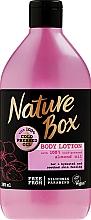 Perfumería y cosmética Loción corporal vegana con aceite de almendras prensado en frío - Nature Box Almond Oil
