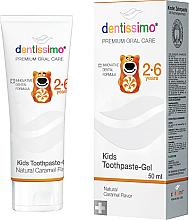 Perfumería y cosmética Pasta dental infantil con sabor a caramelo - Dentissimo Kids Toothpaste Caramel