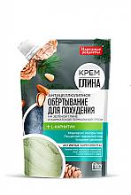 Perfumería y cosmética Envoltura corporal anticelulítica a base de arcilla verde y barro térmico de Kamchatka - Fito Cosmetic Recetas populares