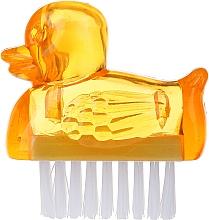 Perfumería y cosmética Cepillo para manicura, 3467, amarillo - Deni Carte Duck's Brush