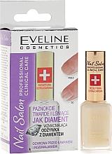 Perfumería y cosmética Tratamiento para uñas dañadas con polvo de diamante - Eveline Cosmetics Nail Therapy Professional