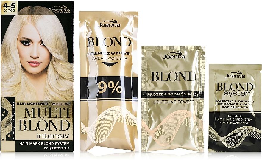 Decolorante de cabello hasta 5 tonos - Joanna Multi Blond Intensiv