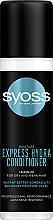 Perfumería y cosmética Spray acondicionador hidratante con agua de árbol de kaede - Syoss Moisture Express Hydra Conditioner