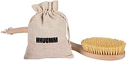 Perfumería y cosmética Cepillo de baño y masaje corporal con fibra tampico - Hhuumm № 6
