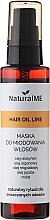 Perfumería y cosmética Aceite mascarilla capilar de argán, almendra y jojoba - NaturalME Hair Oil Line