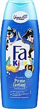 Perfumería y cosmética Gel de ducha y champú infantil 2en1 con provitamina B5, aroma a oceano - Fa Kids Pirate Fantasy