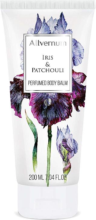 Bálsamo corporal perfumado con aroma a iris y pachulí - Allverne Iris & Patchouli — imagen N1