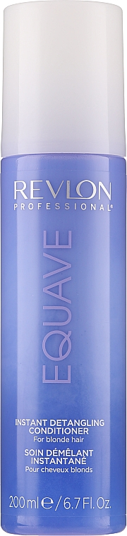 Acondicionador desenredante para cabello rubio - Revlon Professional Equave 2 Phase Blonde Detangling Conditioner — imagen N1