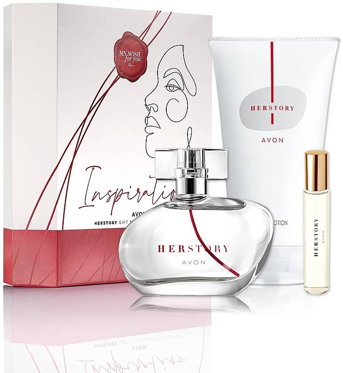 Avon HerStory - Set (eau de parfum/50ml + eau de parfum/mini/10ml + loción corporal/150ml)