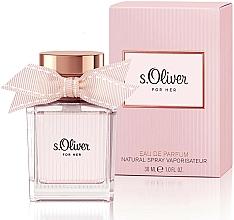 Perfumería y cosmética S.Oliver For Her - Eau de parfum