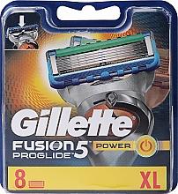 Perfumería y cosmética Recambios de cuchillas, 8uds. - Gillette Fusion ProGlide Power