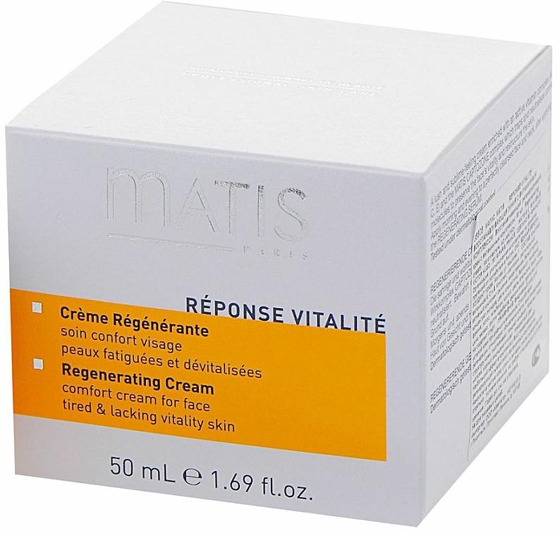 Crema facial regeneradora con extracto de limón - Matis Reponse Vitalite Regenerating cream — imagen N2