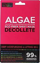 Perfumería y cosmética Mascarilla natural de tejido para escote reafirmante - Beauty Face IST Deep Moisturizing & Lifting Decolette Mask Algae