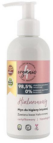 Gel de higiene íntima con ácido hialurónico - 4Organic Hyaluronic Intimate Gel