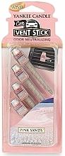 Perfumería y cosmética Ambientador de coche - Yankee Candle Pink Sands
