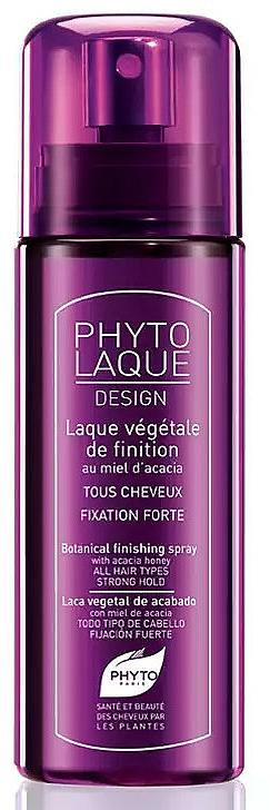 Laca para cabello con miel de acacia, fijación fuerte - Phyto Phytolaque Desing Botanical Finishing Spray