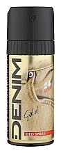 Perfumería y cosmética Denim Gold Deo Spray - Desodorante