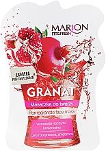 Perfumería y cosmética Mascarilla facial con granada - Marion Fit & Fresh Pomegranate Face Mask