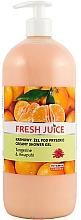 Perfumería y cosmética Crema de ducha con manteca de camelia, extracto de mandarina & jengibre - Fresh Juice Hawaiian Paradise Tangerine & Awapuhi