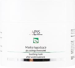 Perfumería y cosmética Mascarilla facial calmante de arcilla post tratamientos con ácidos - APIS Professional Exfoliation Soothing Mask After Acid Treatment