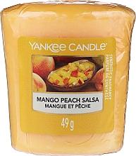 Perfumería y cosmética Vela aromática votiva, mango y melocotón - Yankee Candle Mango Peach Salsa