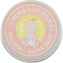 Perfumería y cosmética Bálsamo para mamá y bebé con manteca de karité y aceite de caléndula - Roofa Calendula & Panthenol Mom & Baby Shea Butter & Calendula Balm