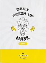 Perfumería y cosmética Mascarilla facial de tejido con extracto de limón - Village 11 Factory Daily Fresh Up Mask Lemon