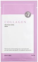 Perfumería y cosmética Mascarilla facial con colágeno, ácido hialurónico y aceite de oliva - Dewytree Collagen Melting Chou Mask