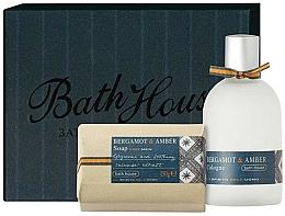 Perfumería y cosmética Bath House Bergamot & Amber - Set (agua de colonia/100ml + jabón/150g)