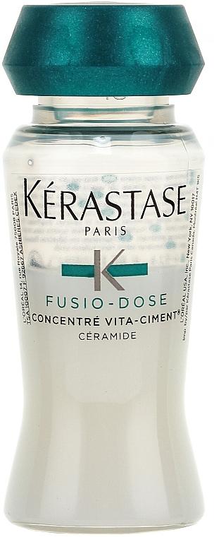 Tratamiento reparador intenso para cabello con queratina - Kerastase Fusio Dose Concentre Vita-Ciment  — imagen N2