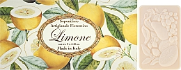 Perfumería y cosmética Set jabón artesanal natural con aroma a limón, 3uds. - Saponificio Artigianale Fiorentino Lemon