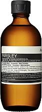 Perfumería y cosmética Aceite limpiador facial de semilla de macadamia - Aesop Parsley Seed Cleansing Oil