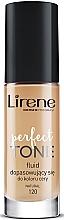 Perfumería y cosmética Base de maquillaje fluida con ácido hialurónico - Lirene Perfect Tone Fluid