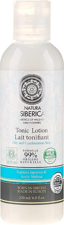 Loción tónico facial con sophora japonica - Natura Siberica — imagen N1