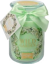 Perfumería y cosmética Vela aromática, jazmín y lila 10x16 cm., 700g. - Artman Wild Garden Jasmin & Lilac