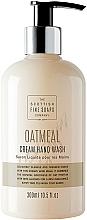 Perfumería y cosmética Jabón de manos líquido con harina de avena - Scottish Fine Soaps Oatmeal Cream Hand Wash