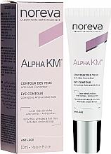 Perfumería y cosmética Crema-gel para contorno de ojos con efecto tensor - Noreva Laboratoires Alpha KM Eye Contour