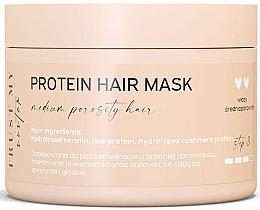 Perfumería y cosmética Mascarilla para cabello de porocidad media con queratina hidrolizada y proteína de arroz - Trust My Sister Medium Porosity Hair Protein Mask