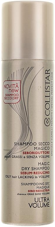 Champú seco seborregulador con extracto de ginseng y ortiga - Collistar Speciale Capelli Perfetti Magic Sebum-Reducing Oily Hair Lacking In Volume
