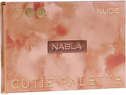 Perfumería y cosmética Paleta de sombras de ojos, 6 colores - Nabla Cutie Collection Palette Nude